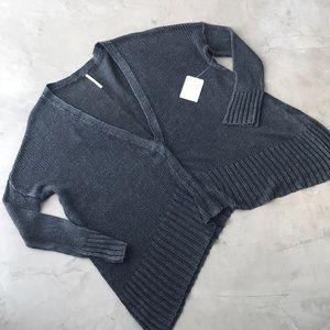 Free People Linen Cardigan Vee Vee size S